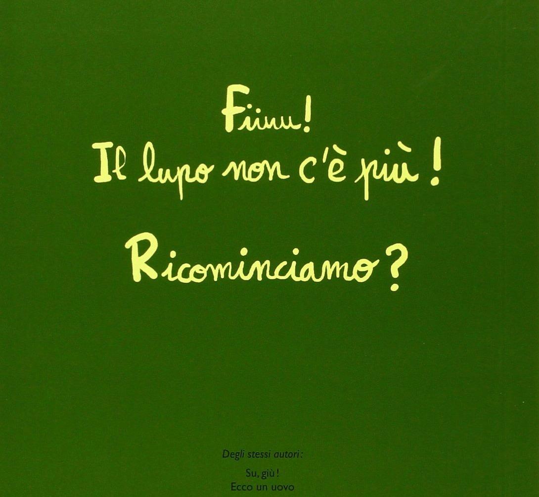 LAVA: Aiuto, arriva il lupo! di Cedric Ramadier e Vincent Bourgeau (Babalibri)